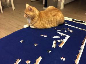 Clio und das Ravensburger Puzzle