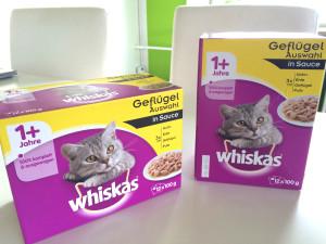 Unser Futterpaket von Wiskas
