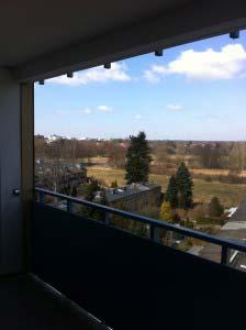 Balkon vor der Katzennetz-Montage