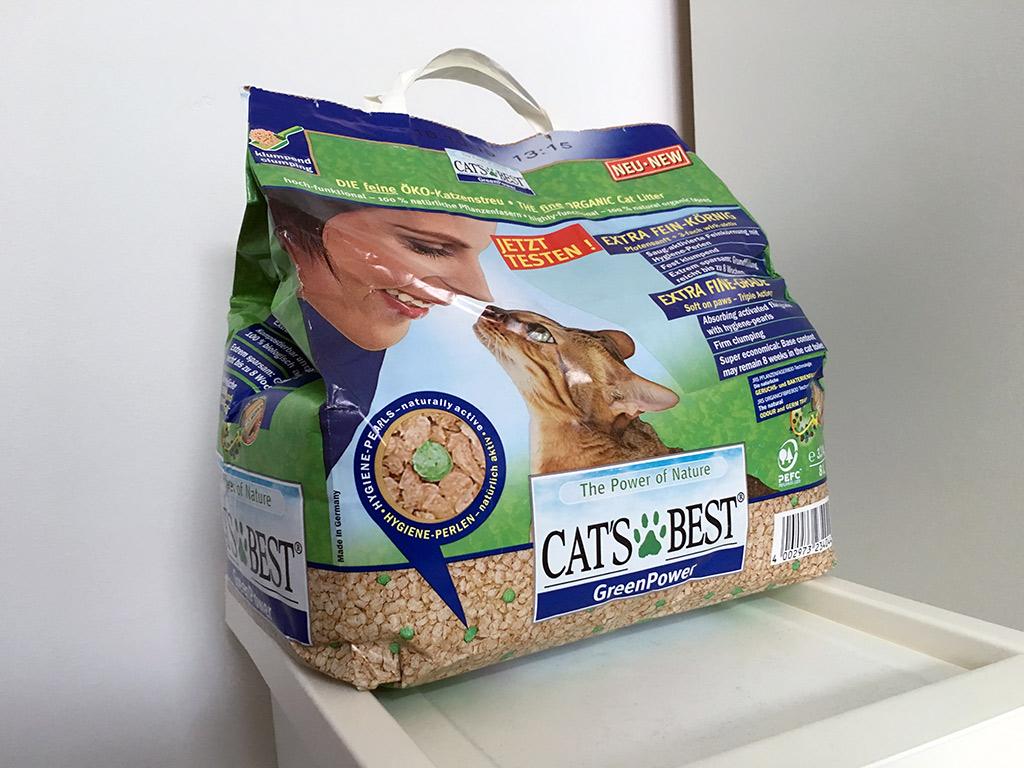 Öko-Katzenstreu von Cat's Best