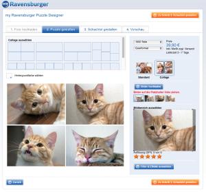 Ravensburger Puzzle mit mehreren Bildern gestalten