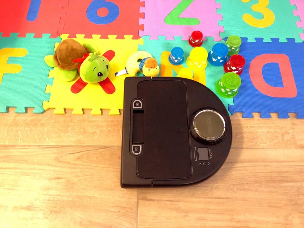 Kinderspielzeug ist eine Hürde für Saugroboter