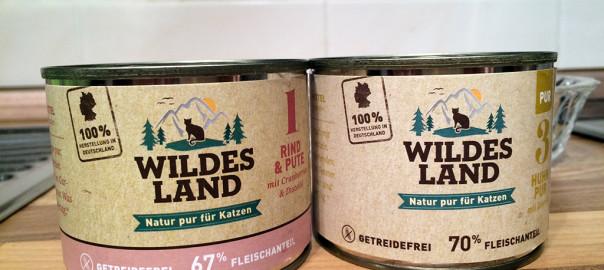 Unser Wildes Land Katzenfutter Test